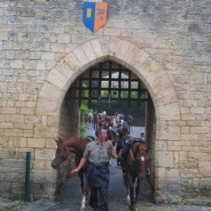 rando à cheval lot château