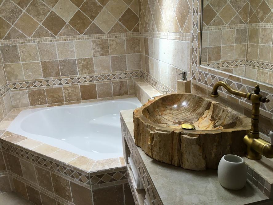 Gite Mimizan salle de bain chambre 3