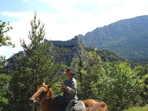rando à cheval au pays cathare