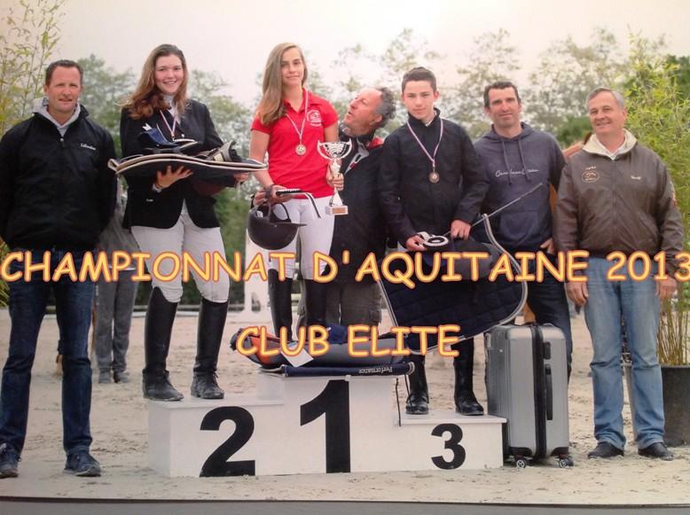 podium aquitaine 2013