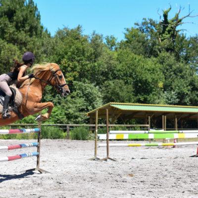 stage équitation et saut obstacle Aquitaine